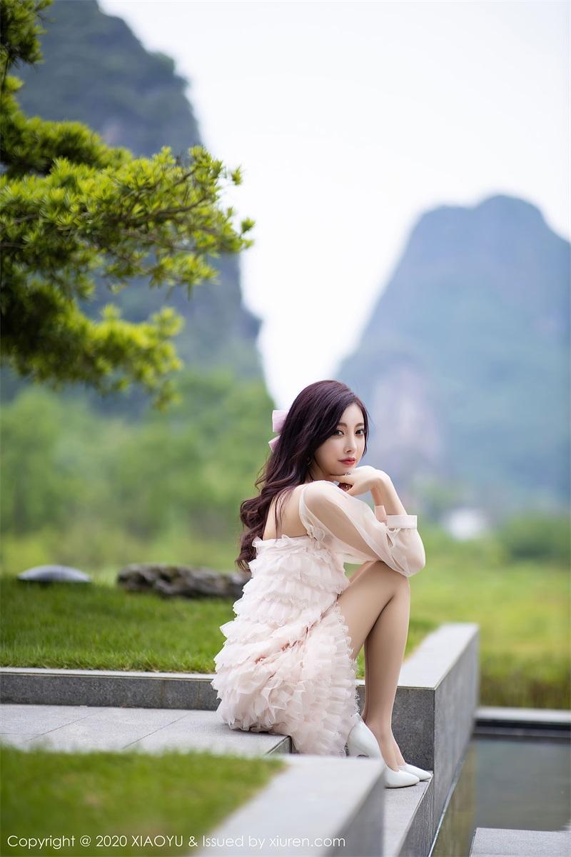 美女写真 运动内衣和粉色长裙 杨晨晨sugar [71P/673MB] 美丝写真-第1张