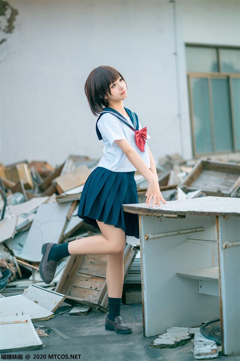 萝莉系列 喵糖映画少女写真 JKL.021 天台JK至服 [33P/512MB] 喵糖映画-第1张