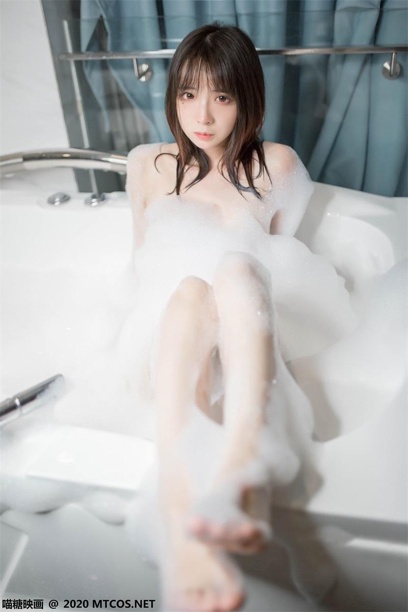 萝莉系列 喵糖映画少女写真 VOL.323 浴缸泡泡 [20P/99MB] 喵糖映画-第1张