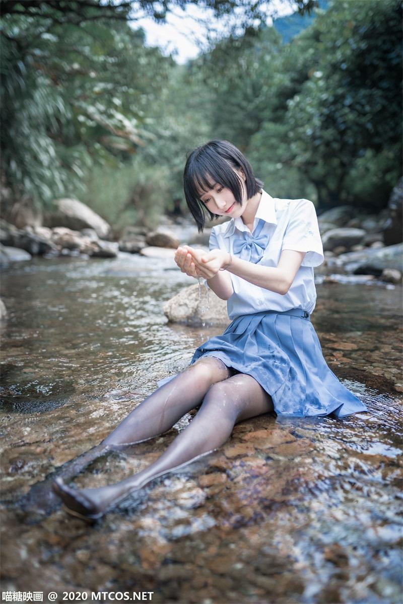 萝莉系列 喵糖映画少女写真 JKL.016 溪边JK至服 [37P/372MB] 喵糖映画-第1张