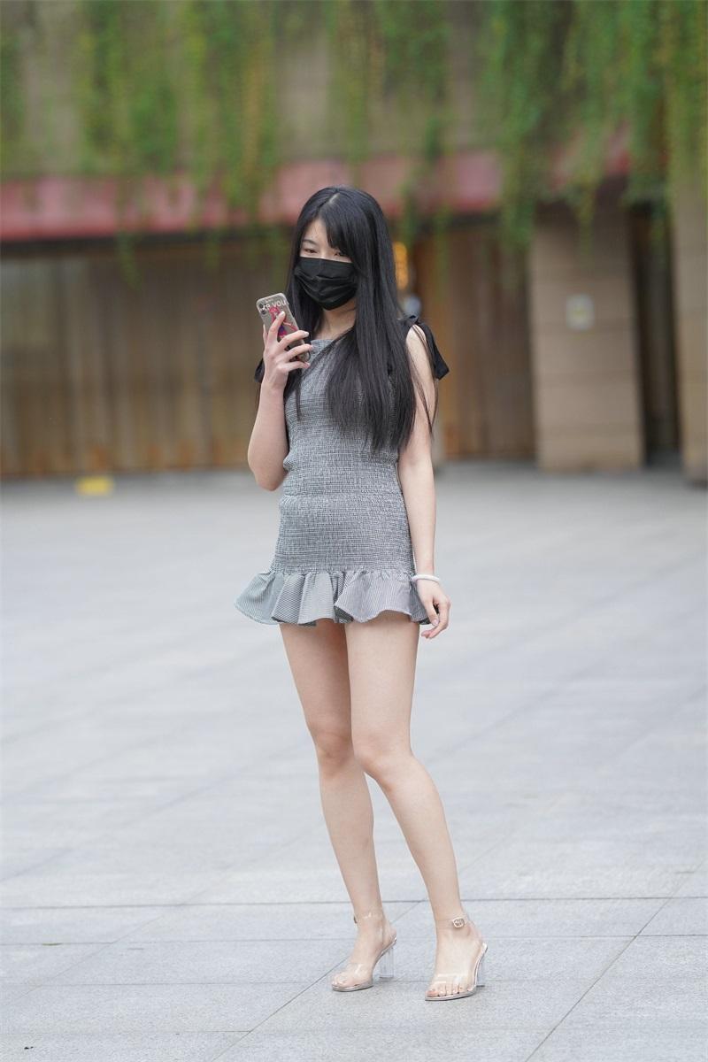 精选街拍 No.124 超短裙女孩 3 [109P/79MB] 精选街拍-第1张