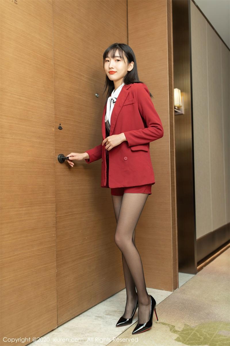 美女写真 热情洋溢的职场西服 陆萱萱 [65P/639MB] 美丝写真-第1张