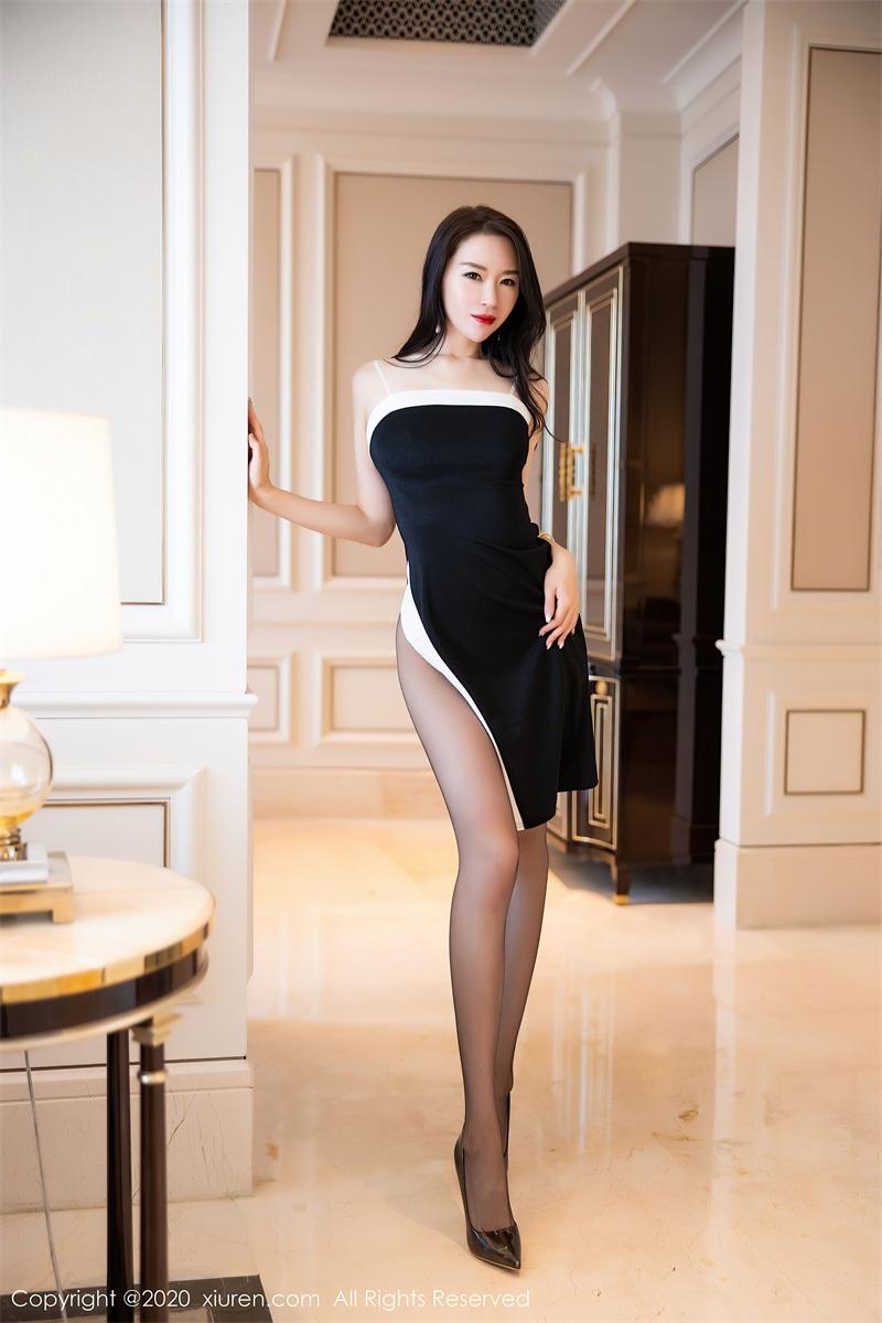 美女写真 华丽典雅的吊裙 梦心月 [94P/973MB] 美丝写真-第1张