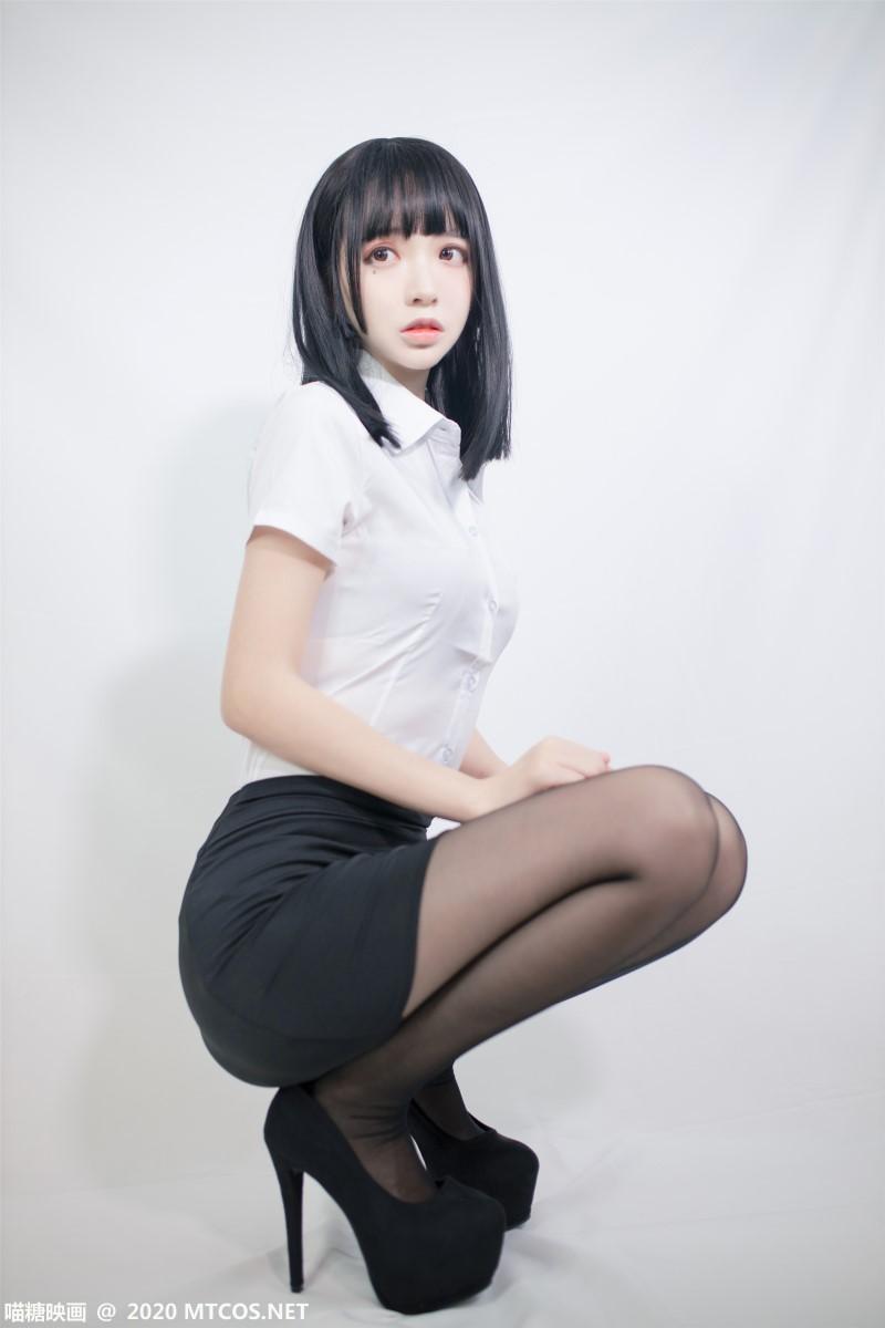 萝莉系列 喵糖映画少女写真 VOL.291 OL至服 [22P/116MB] 喵糖映画-第1张
