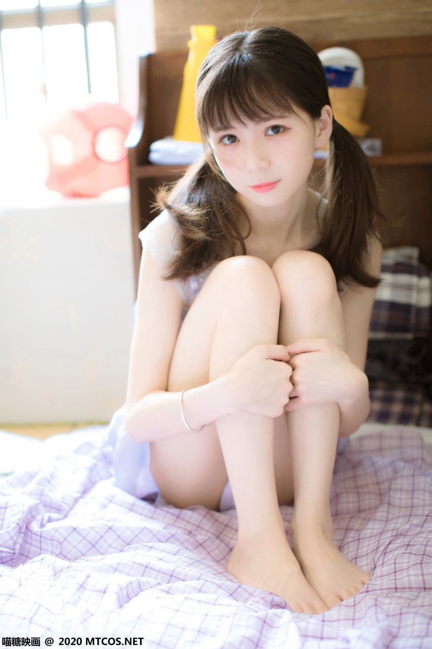 萝莉系列 喵糖映画少女写真 VOL.321 蓝色私房 [20P/433MB] 喵糖映画-第3张