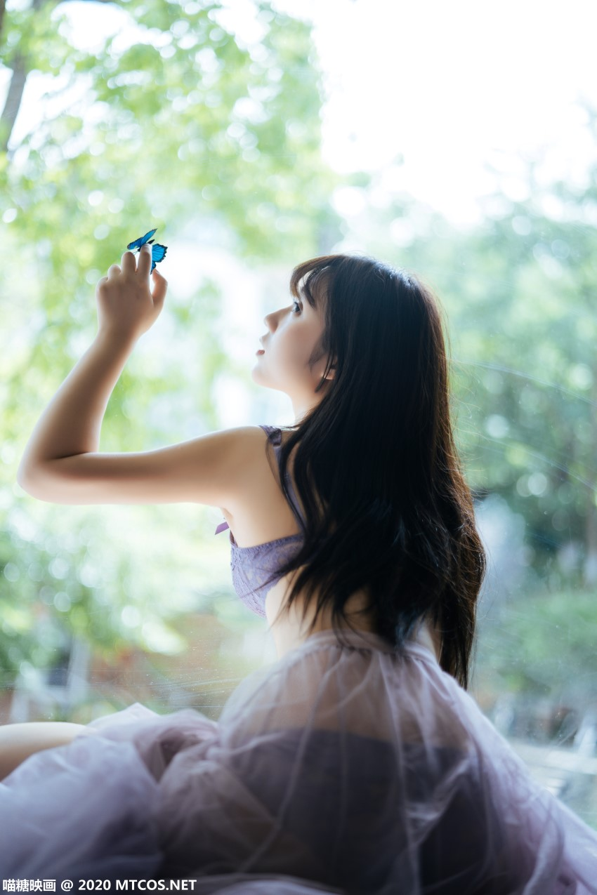 萝莉系列 喵糖映画少女写真 VOL.309 蓝蝶静夏 [25P/962MB] 喵糖映画-第3张