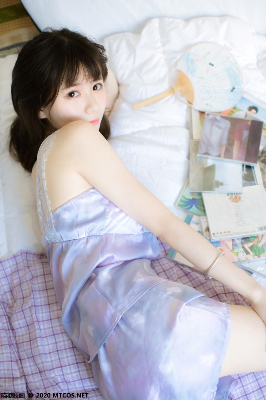 萝莉系列 喵糖映画少女写真 VOL.321 蓝色私房 [20P/433MB] 喵糖映画-第2张