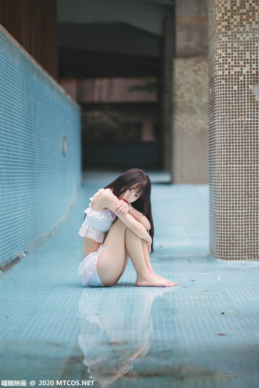 萝莉系列 喵糖映画少女写真 VOL.312 泳池萌妹 [35P/195MB] 喵糖映画-第4张