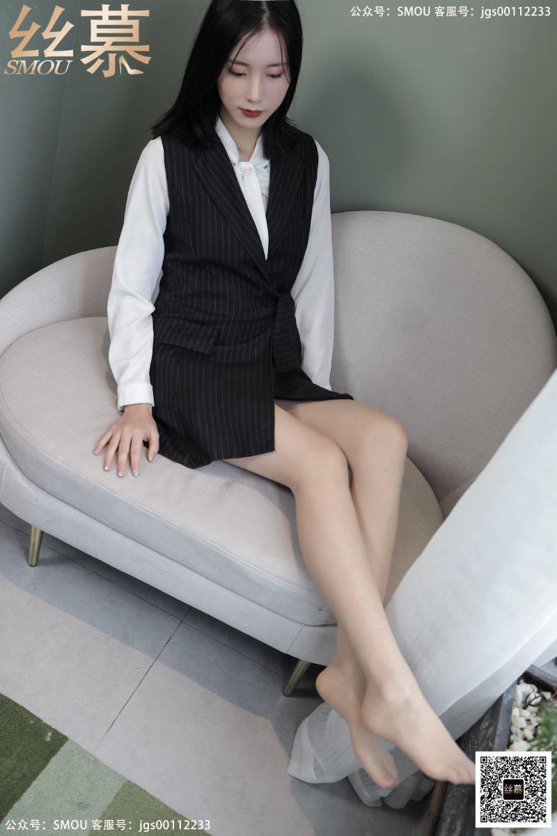 丝模系列 丝慕写真 SM433 天天一元 模特:紫宁《绫肤色连裤袜》[82P/129MB] 丝慕写真-第2张
