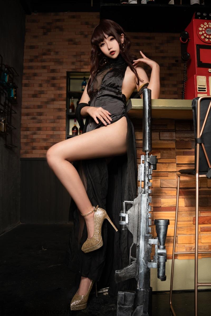 萝莉系列 喵糖映画少女写真 VOL.336 黑裙酒馆 [20P/430MB] 喵糖映画-第4张