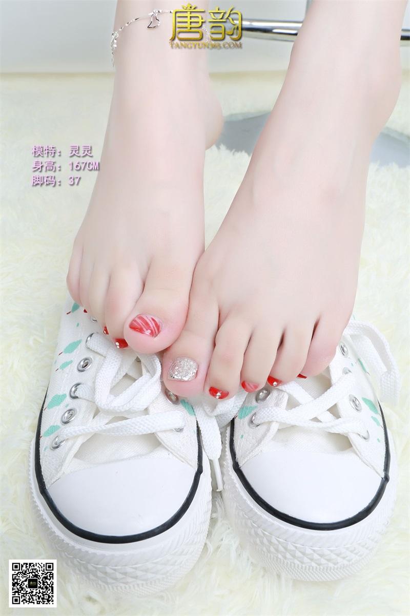 [唐韵] P0054 灵灵 帆布鞋美脚 [12P/10.9MB] 唐韵-第4张