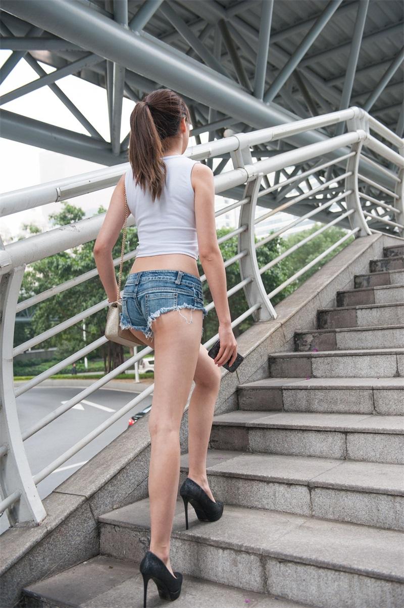 精选街拍 No.198 婷婷 高跟热裤长腿美女 [211P/1.22GB] 精选街拍-第4张