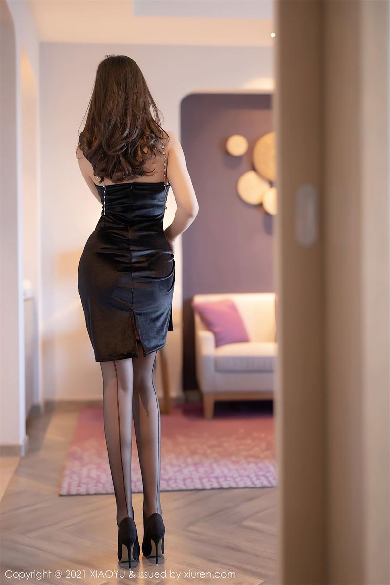 美女写真 典雅的黑色长裙 郑颖姗Bev [76P/642MB] 美丝写真-第4张