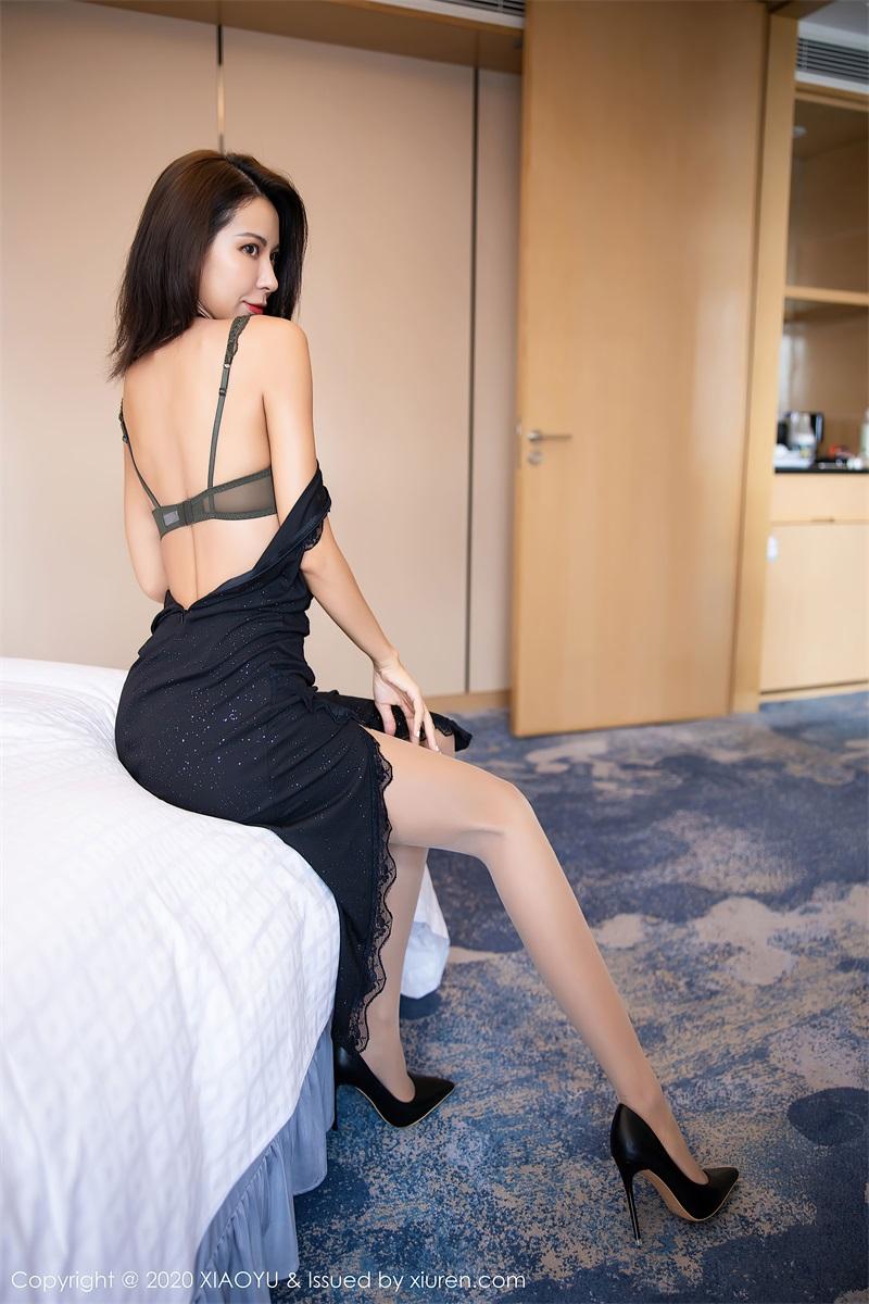 美女写真 一袭黑丝华丽长裙 Carry [67P/583MB] 美丝写真-第4张