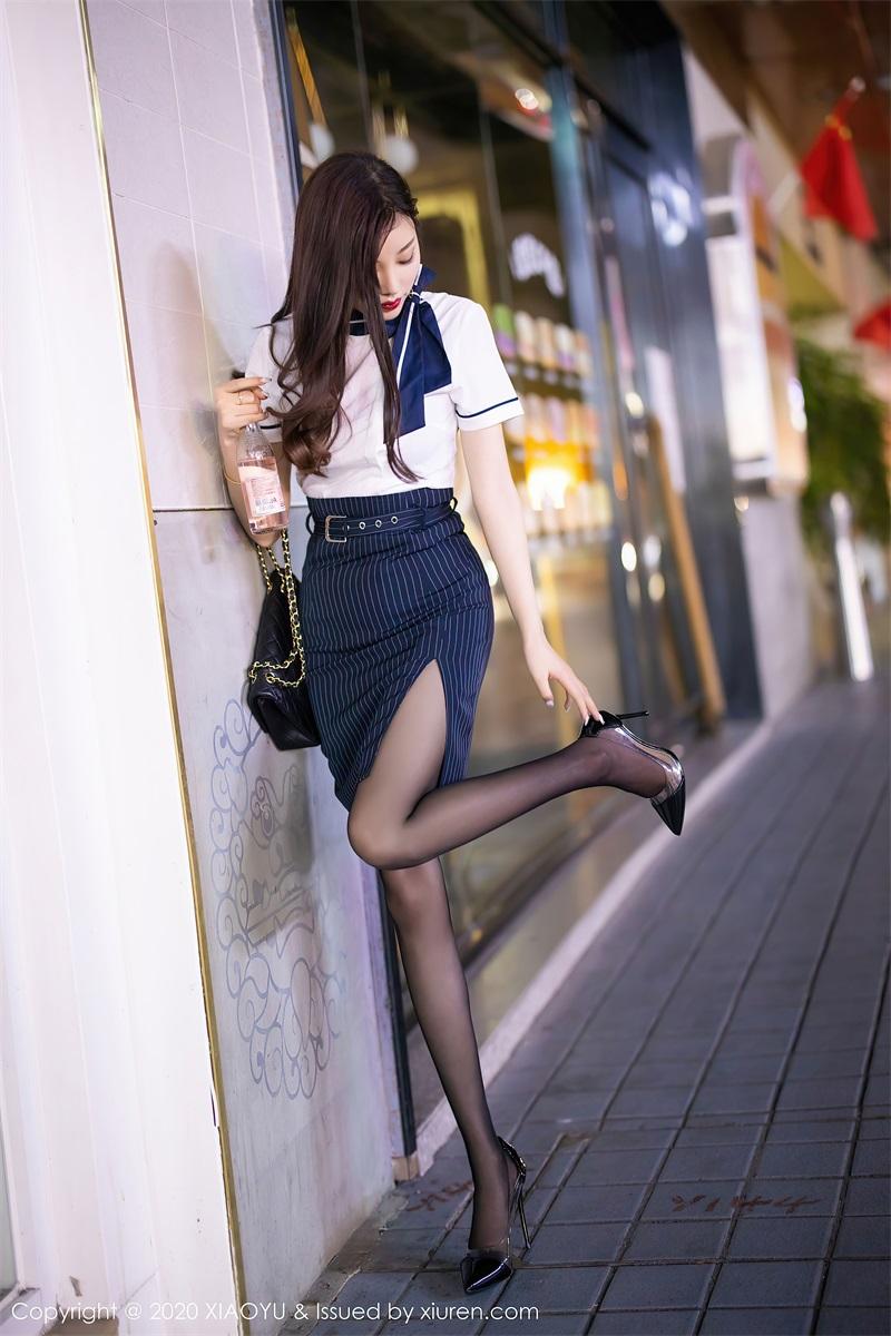 美女写真  街边偶遇穿制服的晨晨 杨晨晨sugar [93P/843MB] 美丝写真-第3张