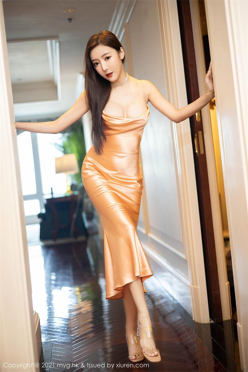 美女写真 华丽典雅的吊裙 王馨瑶 [60P/477MB] 美丝写真-第3张