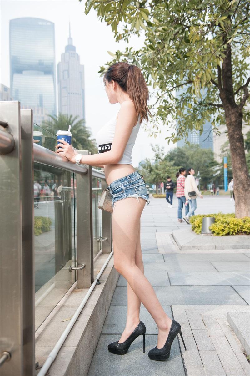 精选街拍 No.198 婷婷 高跟热裤长腿美女 [211P/1.22GB] 精选街拍-第3张