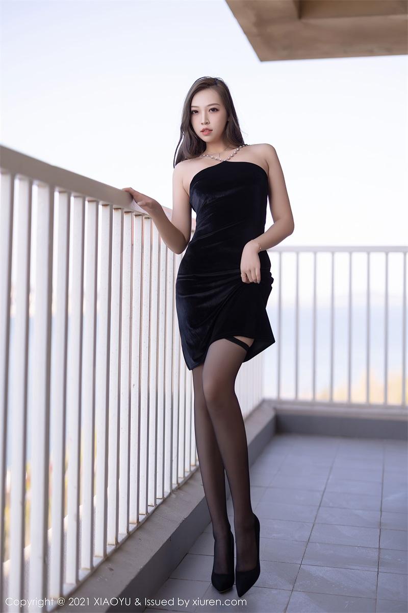 美女写真 典雅的黑色长裙 郑颖姗Bev [76P/642MB] 美丝写真-第3张
