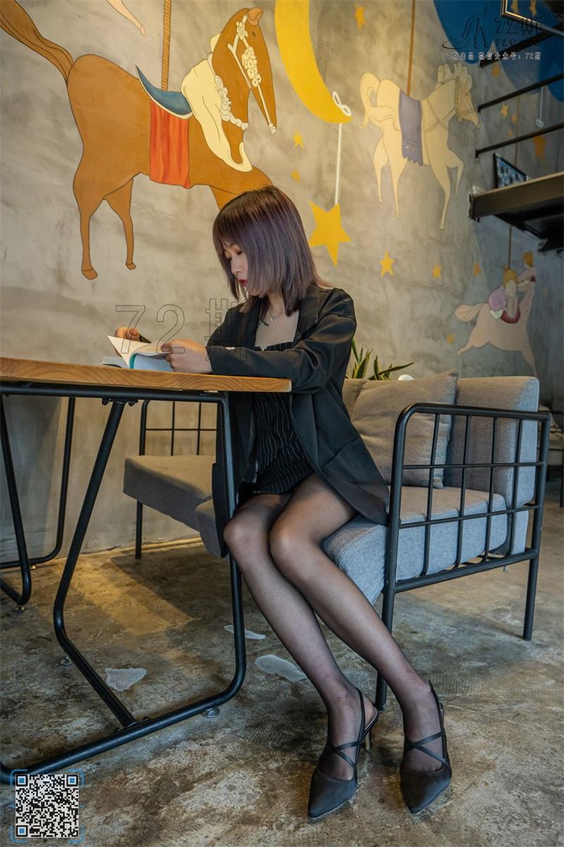 [72斯] 丝族写真 NO.008 咖啡厅淑女 [47P/88M] 72斯-第3张