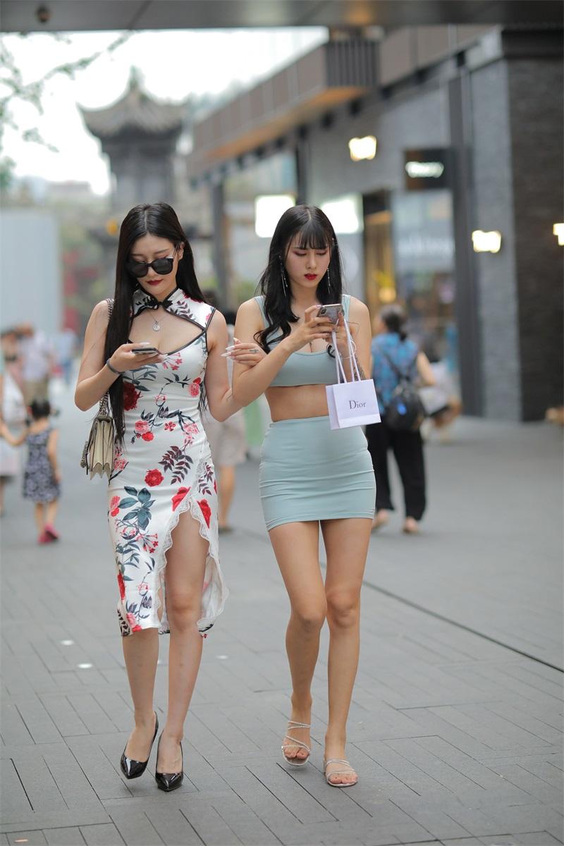 精选街拍 No.177 两个姐妹花的街拍 [248P/297MB] 精选街拍-第3张