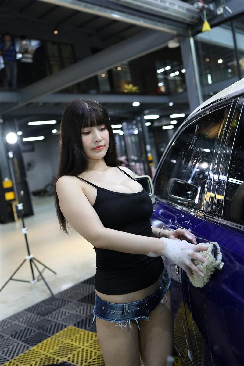 精选模拍 NO.001 朱可儿 称职的女洗车工1 [235P/270MB] 精选模拍-第3张