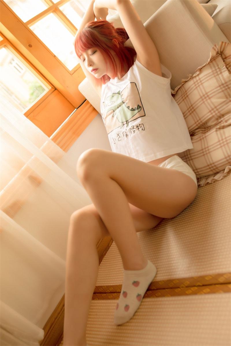萝莉系列 喵糖映画少女写真 VOL.335 夏日和风 [27P/427MB] 喵糖映画-第2张