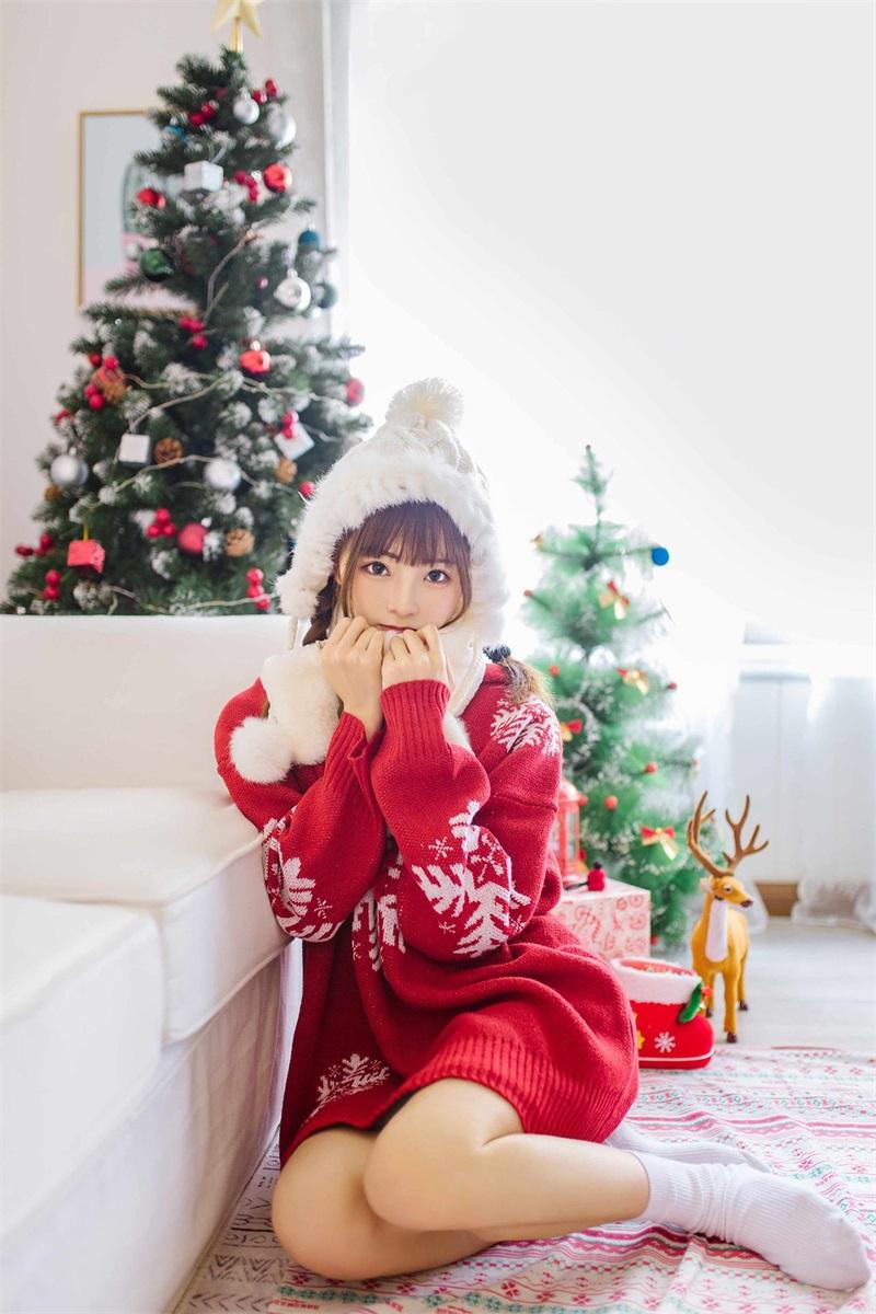 网红Coser@Kitaro_绮太郞 圣诞节1 [13P/14MB] 网红Coser-第3张