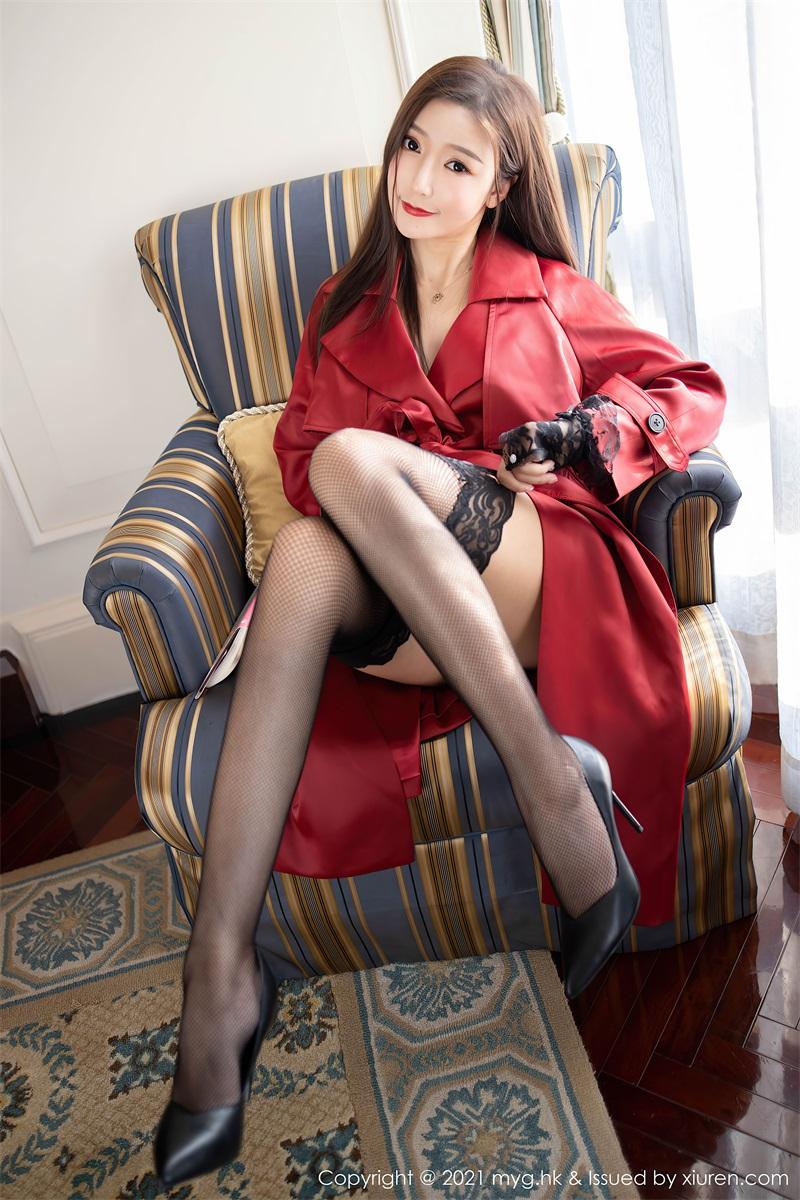 美女写真 鲜红飒爽多姿的皮衣 王馨瑶 [64P/646MB] 美丝写真-第2张