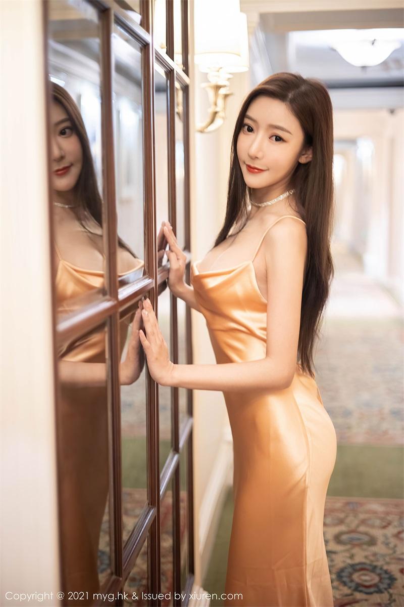 美女写真 华丽典雅的吊裙 王馨瑶 [60P/477MB] 美丝写真-第2张