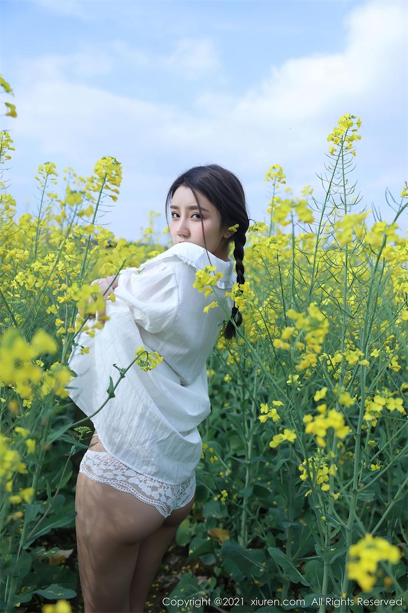 美女写真 清纯的白色裙子 夏西Cici [50P/516MB] 美丝写真-第3张