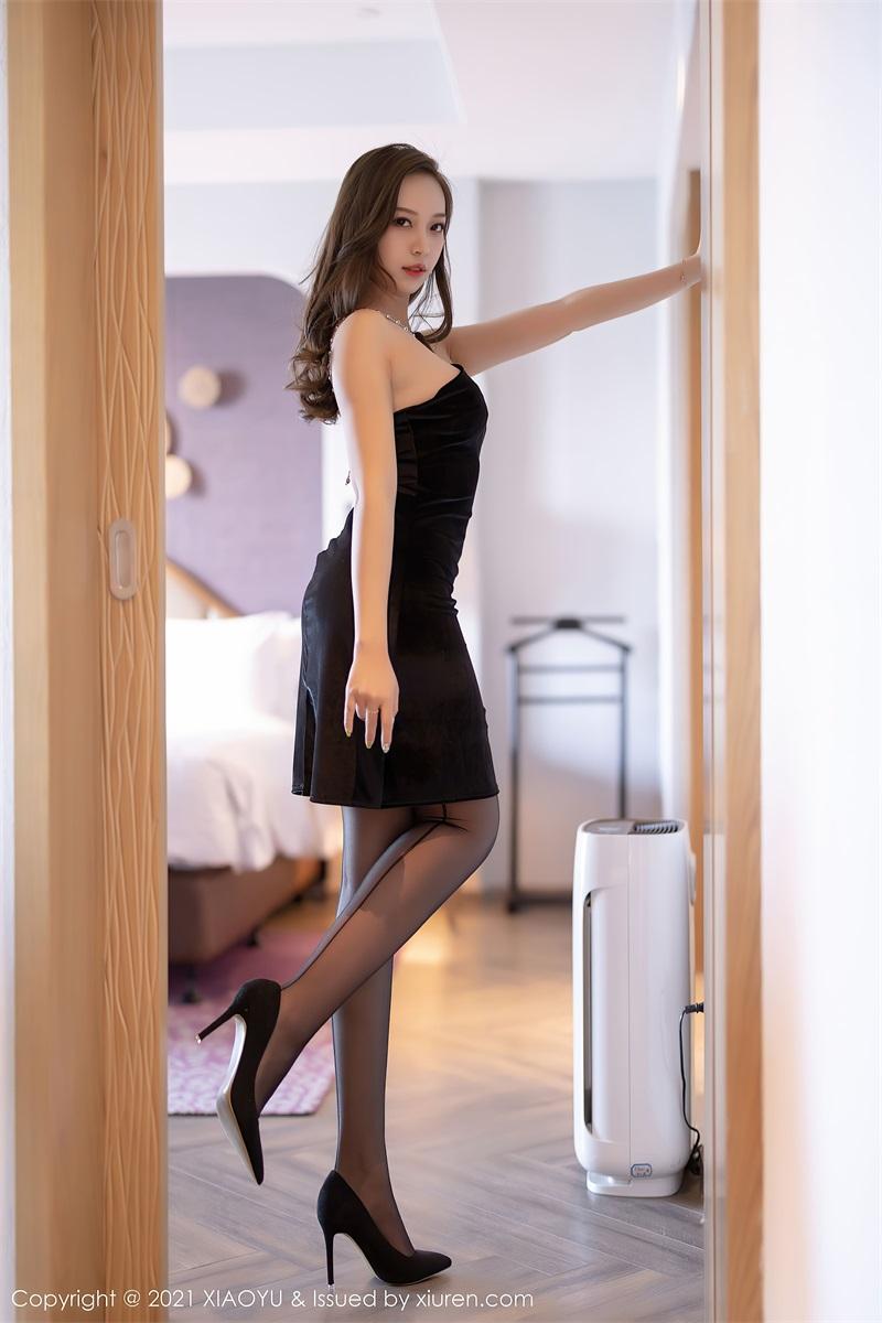 美女写真 典雅的黑色长裙 郑颖姗Bev [76P/642MB] 美丝写真-第2张