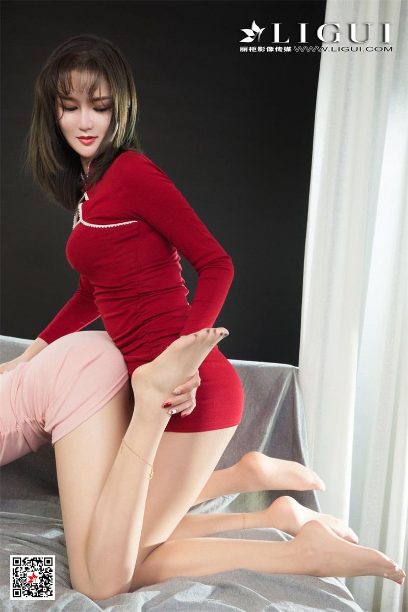 [Ligui丽柜] 2021.07.23 Model《双生花-红粉佳人》小智贤&文芮 [74/97MB] LIGUI丽柜-第2张