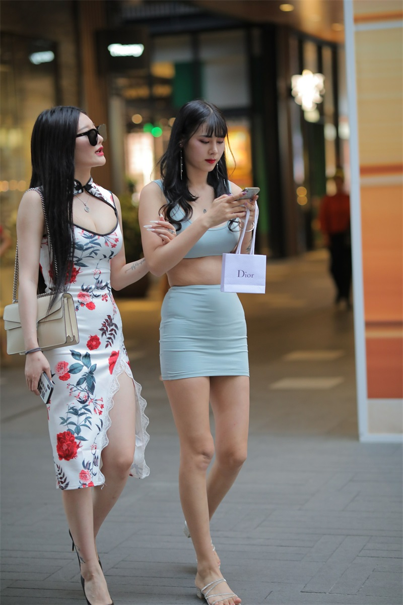 精选街拍 No.177 两个姐妹花的街拍 [248P/297MB] 精选街拍-第2张