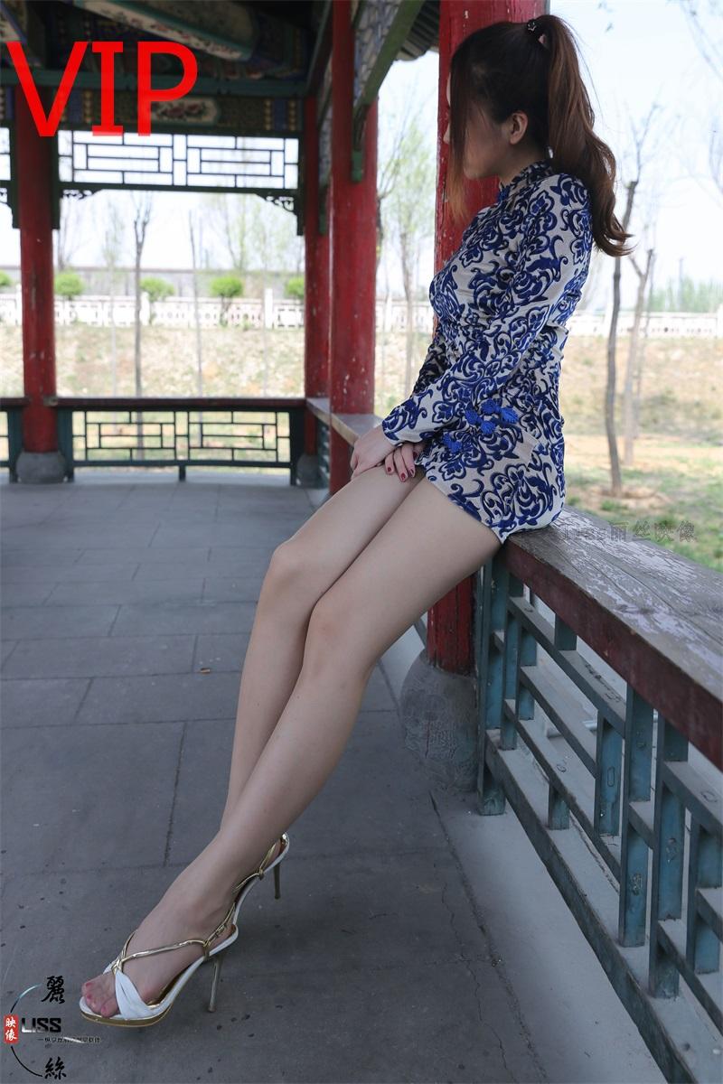 [LISS丽丝] NO.037 旭子《肤丝色的旗袍艺术》[50P/615MB] LISS丽丝-第1张