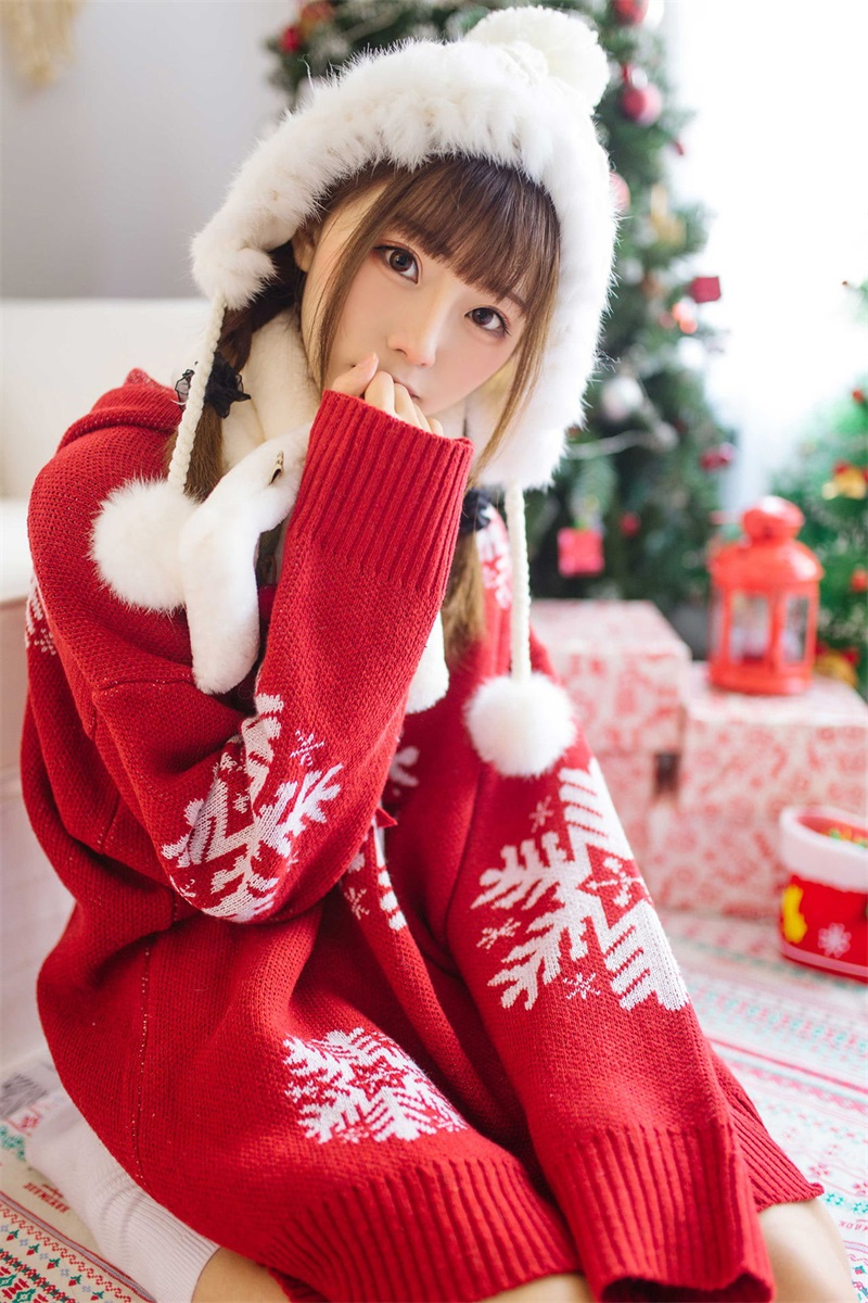 网红Coser@Kitaro_绮太郞 圣诞节1 [13P/14MB] 网红Coser-第2张