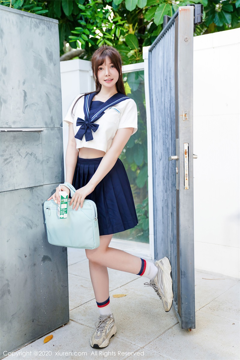 美女写真 经典学生装 糯美子Mini [46P/416MB] 美丝写真-第3张