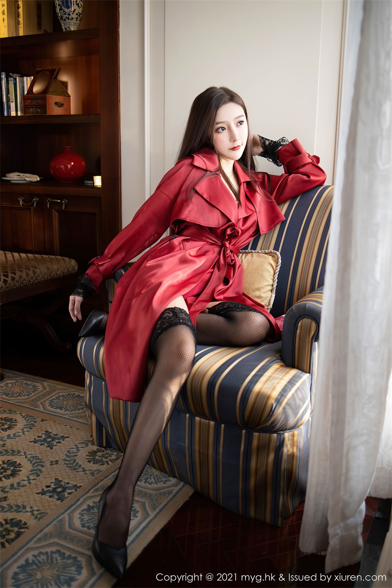 美女写真 鲜红飒爽多姿的皮衣 王馨瑶 [64P/646MB] 美丝写真-第1张