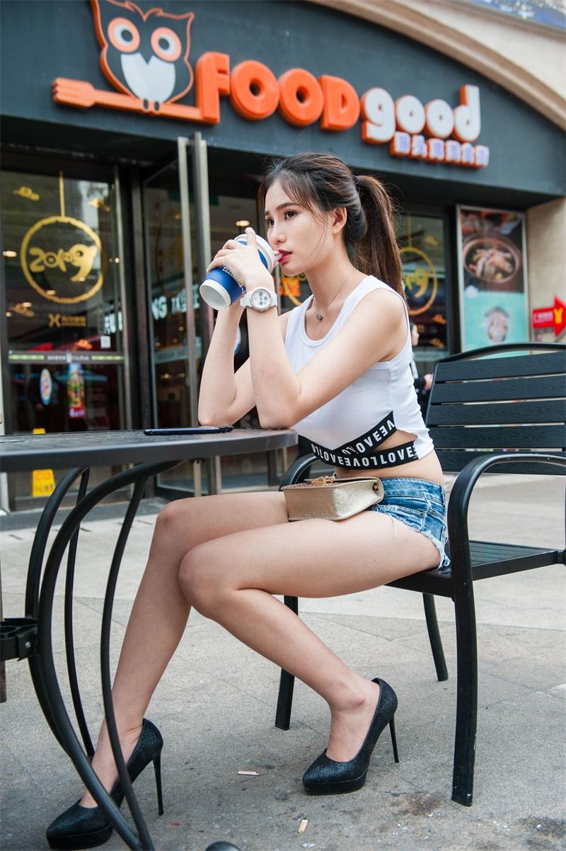 精选街拍 No.198 婷婷 高跟热裤长腿美女 [211P/1.22GB] 精选街拍-第1张