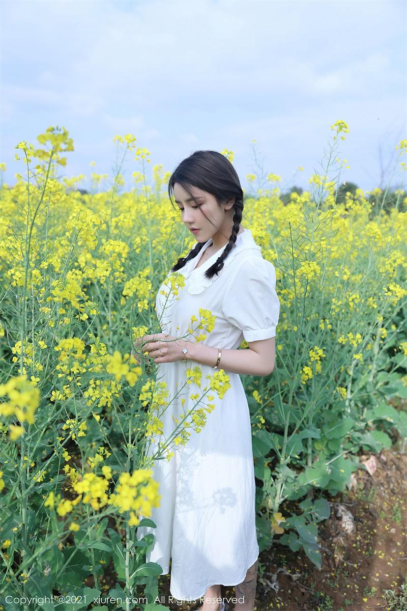美女写真 清纯的白色裙子 夏西Cici [50P/516MB] 美丝写真-第2张