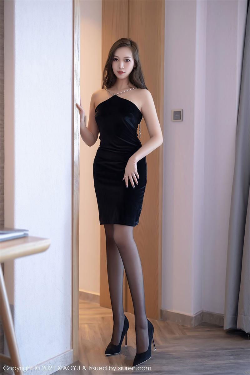 美女写真 典雅的黑色长裙 郑颖姗Bev [76P/642MB] 美丝写真-第1张
