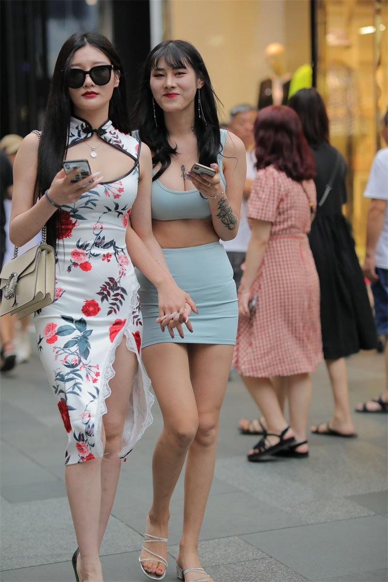 精选街拍 No.177 两个姐妹花的街拍 [248P/297MB] 精选街拍-第1张