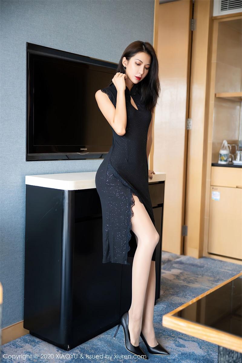 美女写真 一袭黑丝华丽长裙 Carry [67P/583MB] 美丝写真-第1张
