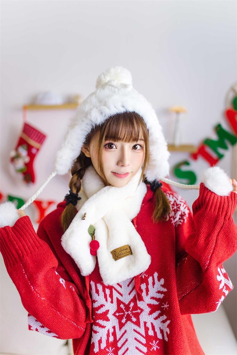 网红Coser@Kitaro_绮太郞 圣诞节1 [13P/14MB] 网红Coser-第1张