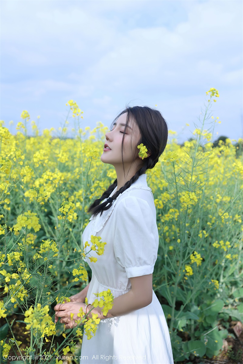 美女写真 清纯的白色裙子 夏西Cici [50P/516MB] 美丝写真-第1张