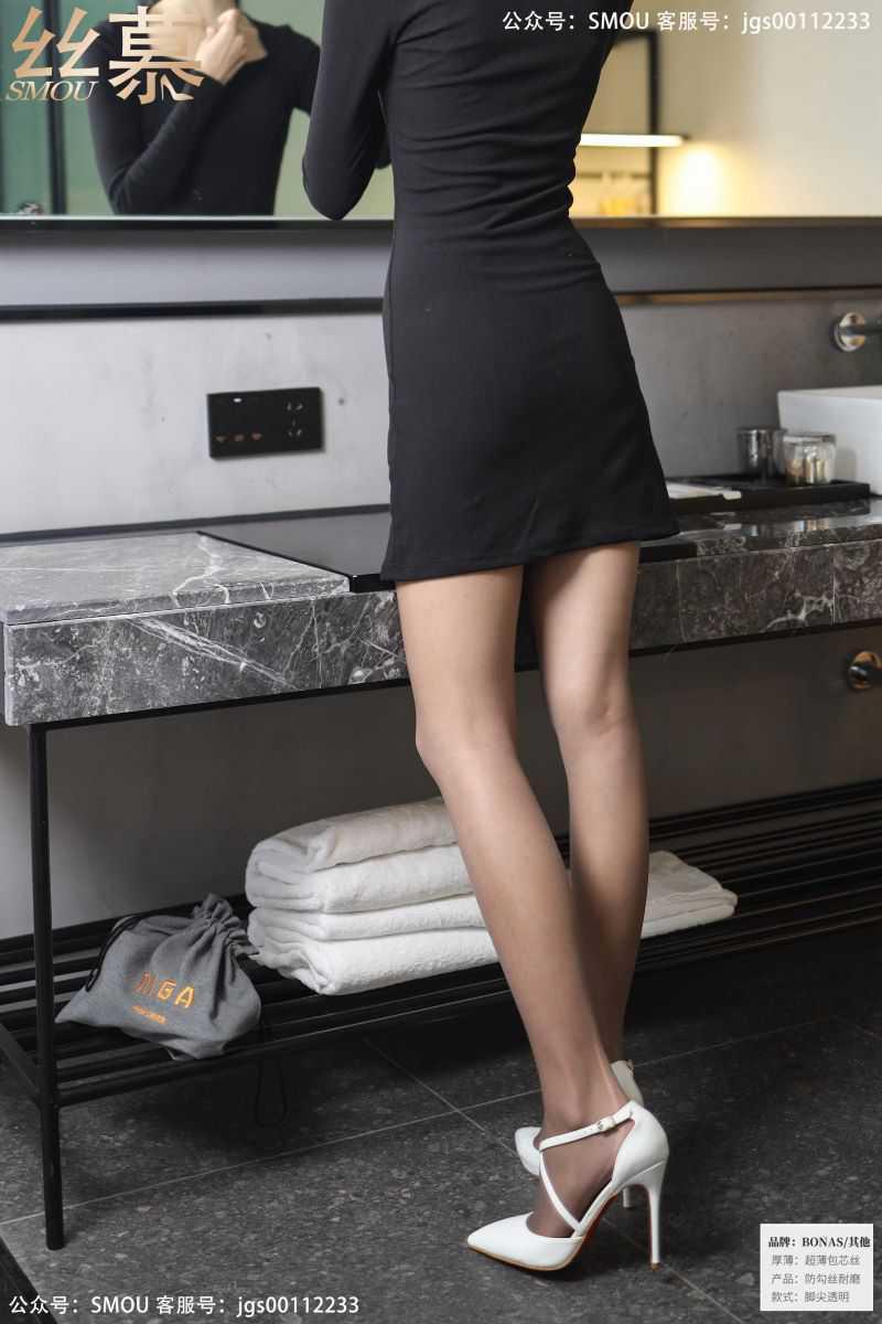 丝模系列 丝慕写真 SM436 天天一元 模特:茗茗《白色高跟鞋》[64P/71MB] 丝慕写真-第2张