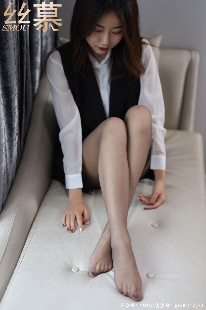 丝模系列 丝慕写真 SM439 天天一元 模特:米朵 《细闪高跟鞋》[74P/76M] 丝慕写真-第3张