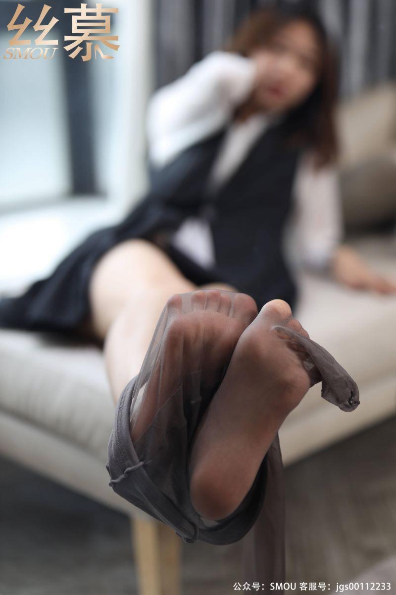 丝模系列 丝慕写真 SM439 天天一元 模特:米朵 《细闪高跟鞋》[74P/76M] 丝慕写真-第4张