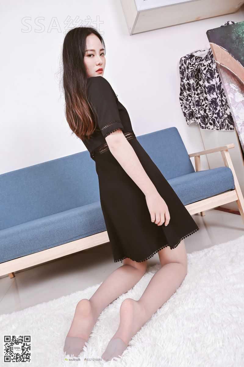 [SSA丝社] NO.133 晓晓 黑色的短裙 [140P/271MB] SSA丝社-第4张