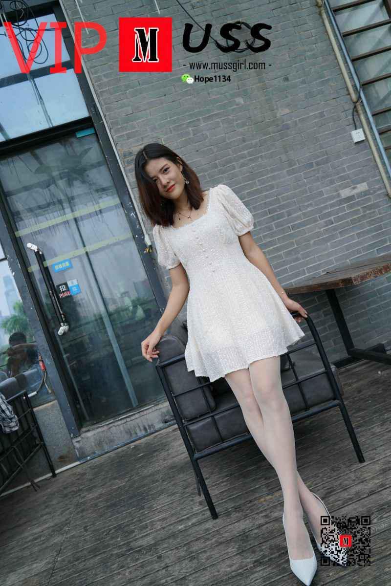 [MussGirl慕丝女郎]NO.017 白衣互士与白丝的绝美邂逅小贤 [99P/216MB] 年费专享-第1张