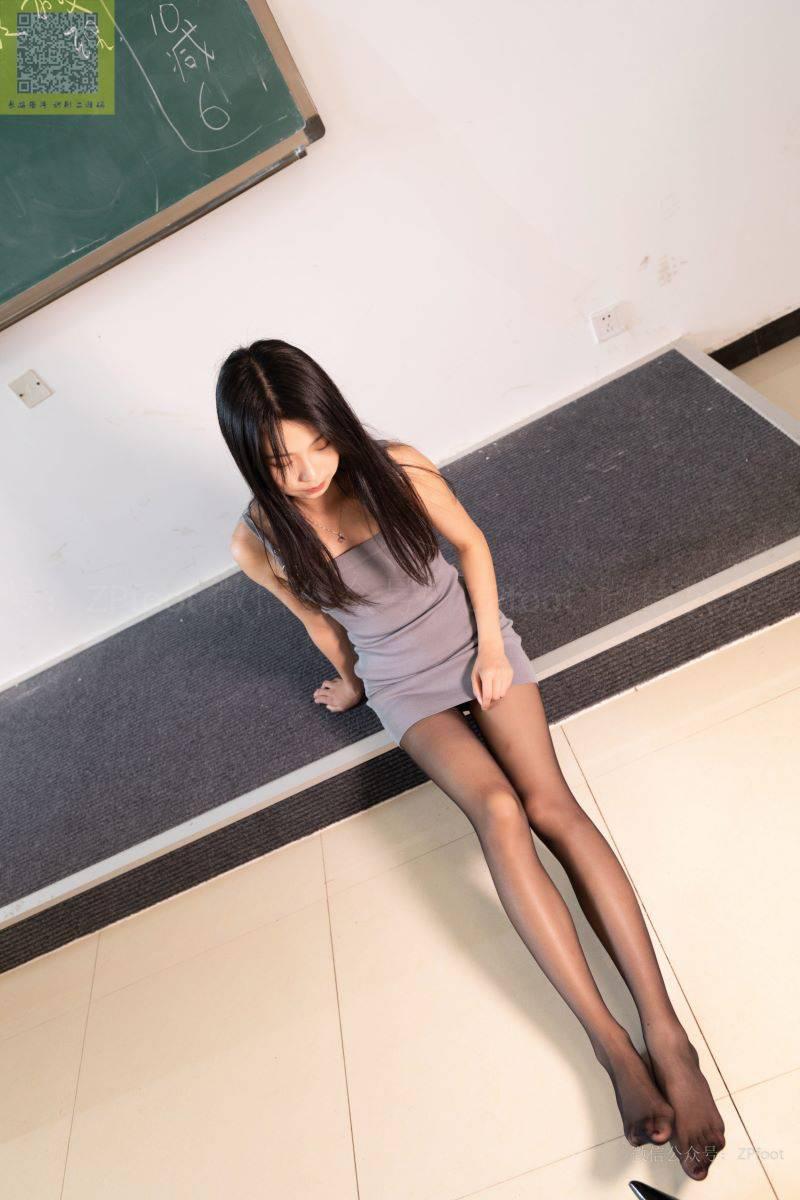 [LSS山茶摄影] NO.301 灰色包臀裙的黑丝高跟美女 [82P/68MB] LSS山茶摄影-第2张